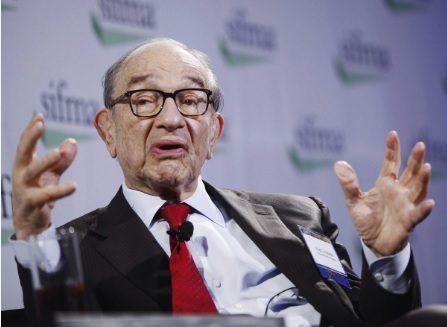 格林斯潘:美股将因废除《多德-弗兰克法案》而大涨