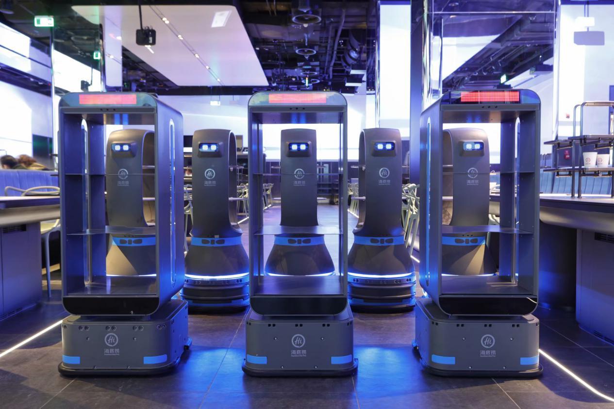 海底捞智慧转型,餐厅机器人如何服务?