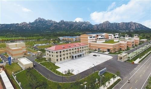 图为位于青岛的中科院轻型动力研发及产业化基地。 刘 成摄