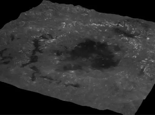 邂逅美丽月球 月球上的环形坑