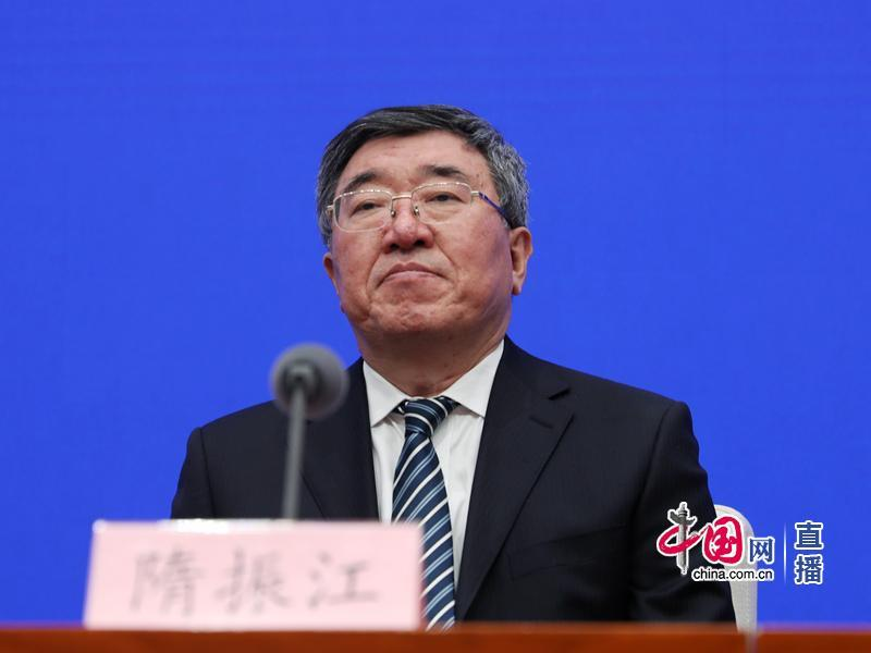 北京市副市长隋振江(中国网 宗超 摄影)