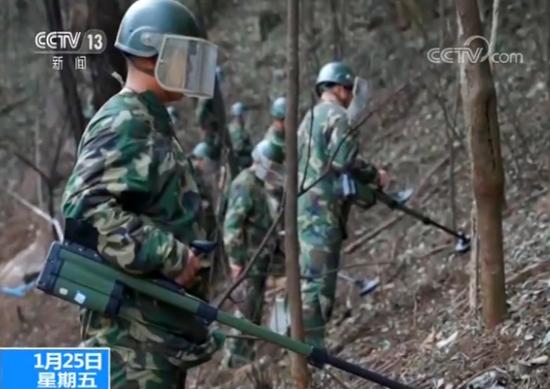 云南扫雷大队分队指导员 王禹澄:上山一趟不容易,上去一趟就必须要有一趟的效果,就必须要向前挺进。