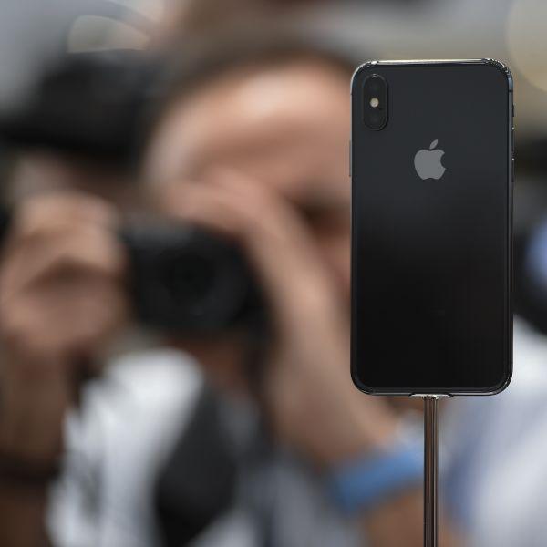资料图:iphone手机。