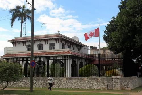 资料图片:加拿大驻古巴大使馆