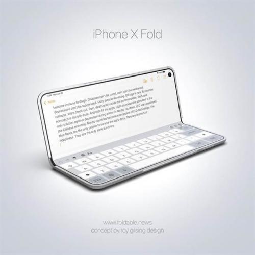 设计师脑洞大开 可折叠屏幕iphone长这样?(图)
