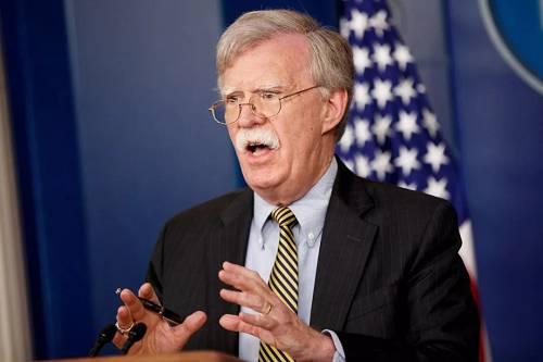 美国总统国家安全事务助理约翰·博尔顿