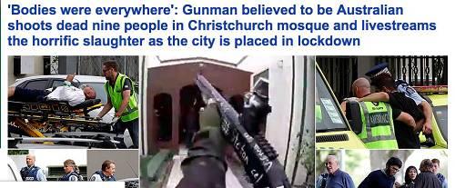 就在刚刚,基督城Hagley公园附近的一个清真寺内,疑似一名澳大利亚人向清真寺正在做礼拜的信徒开枪。
