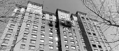 长春一14楼住户家发生疑似燃气爆炸