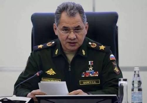 俄罗斯国防部长绍伊古资料图