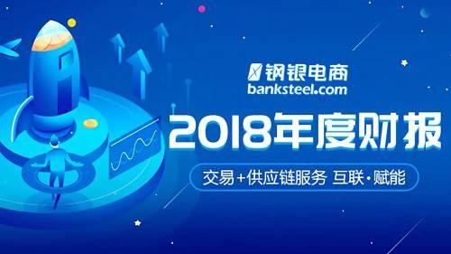 新三板龍頭鋼銀電商2018年財報:盈利爆發,持續領跑