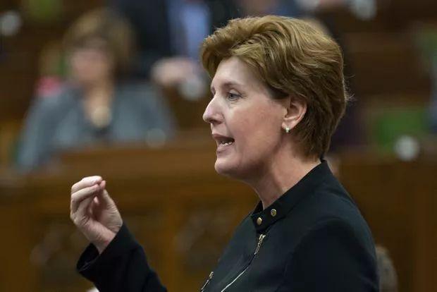 加拿大农业部长玛丽-克洛德・比博(来源:加拿大《环球邮报》网站)