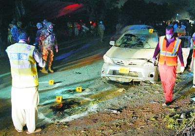 巴基斯坦奎达发生爆炸 4名警察亡
