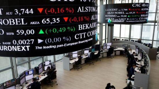 欧洲股市周一(5月20日)普遍下跌,人们对全球贸易局势恶化的担忧打压了欧洲与贸易有关的科技股和汽车股。