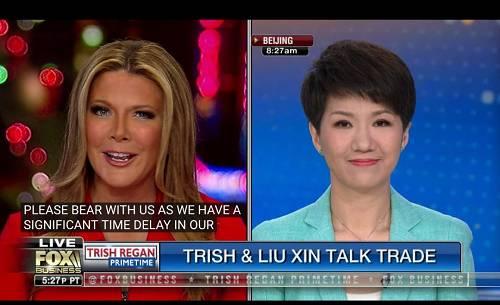 """全文来了!中美女主播""""对辩""""结束,刘欣高质量应答"""