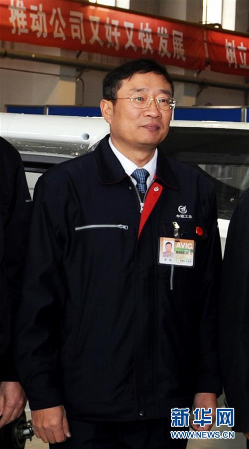这是罗阳同志生前照片(2012年2月24日摄)。 新华社记者 李钢