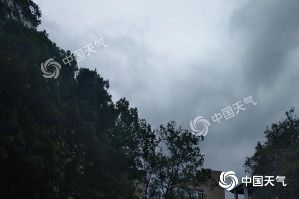 四川今天降水明显泸州局部有暴雨 明后天雨水减弱停歇
