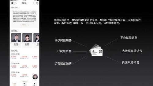 李春瑜:排排网名片正式发布,六大赋能解决销售难题!