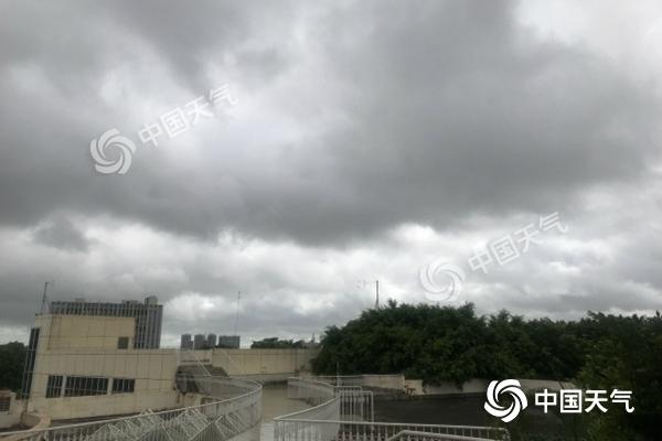 """台风""""木恩""""带来强风雨 海南三亚乐东等地有暴雨"""
