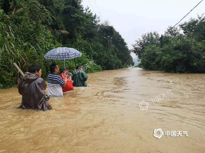 """强降雨""""锁定""""江西 南昌等地局地大暴雨"""