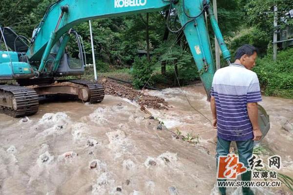 双牌县打鼓坪乡:洪水退去 灾后重建忙