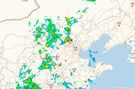 出门带伞!北京7区发布雷电预警 对晚高峰暂无影响