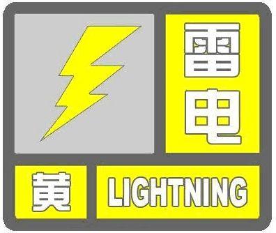 雷电黄色预警! 今天下午河北局地有分散性雷阵雨