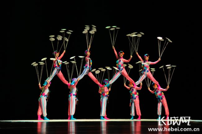 中国杂技团来保定演出 多个节目曾获国际金奖