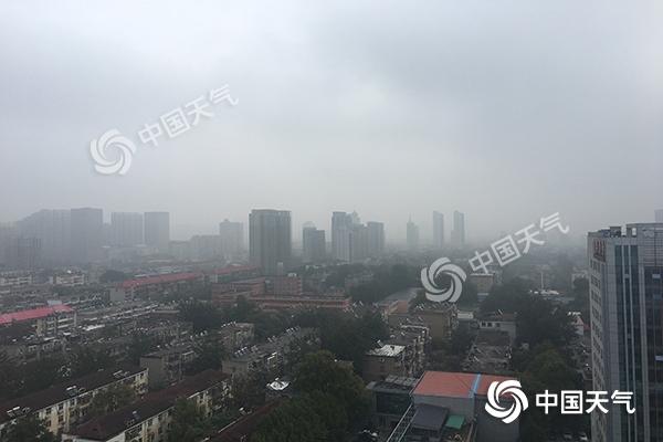 河北大雾天气影响交通 周末气温触底反弹重回20℃