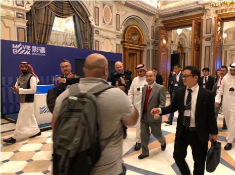 """影谱亮相沙特未来投资倡议峰会 展现中国""""智造""""风采"""