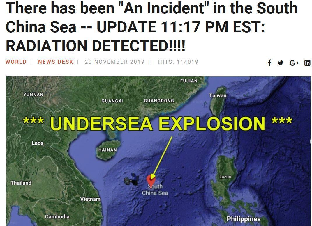 核潜艇爆炸你也信?又是假新闻!