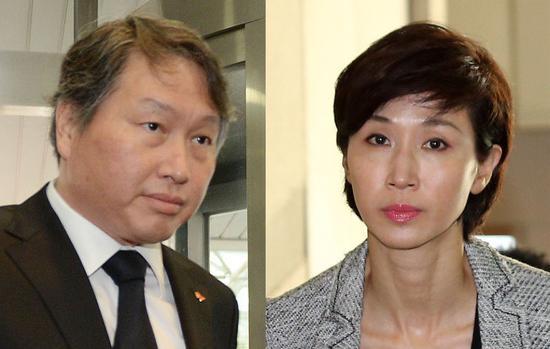 韩国SK集团董事长离婚案 妻子要分亿万身家