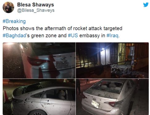 此外,另据俄罗斯卫星通讯社报道,巴格达附近地区还发生迫击炮攻击,造成5人受伤。