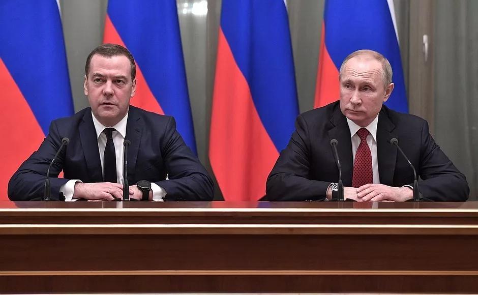 普京与梅德韦杰夫/俄罗斯总统网站