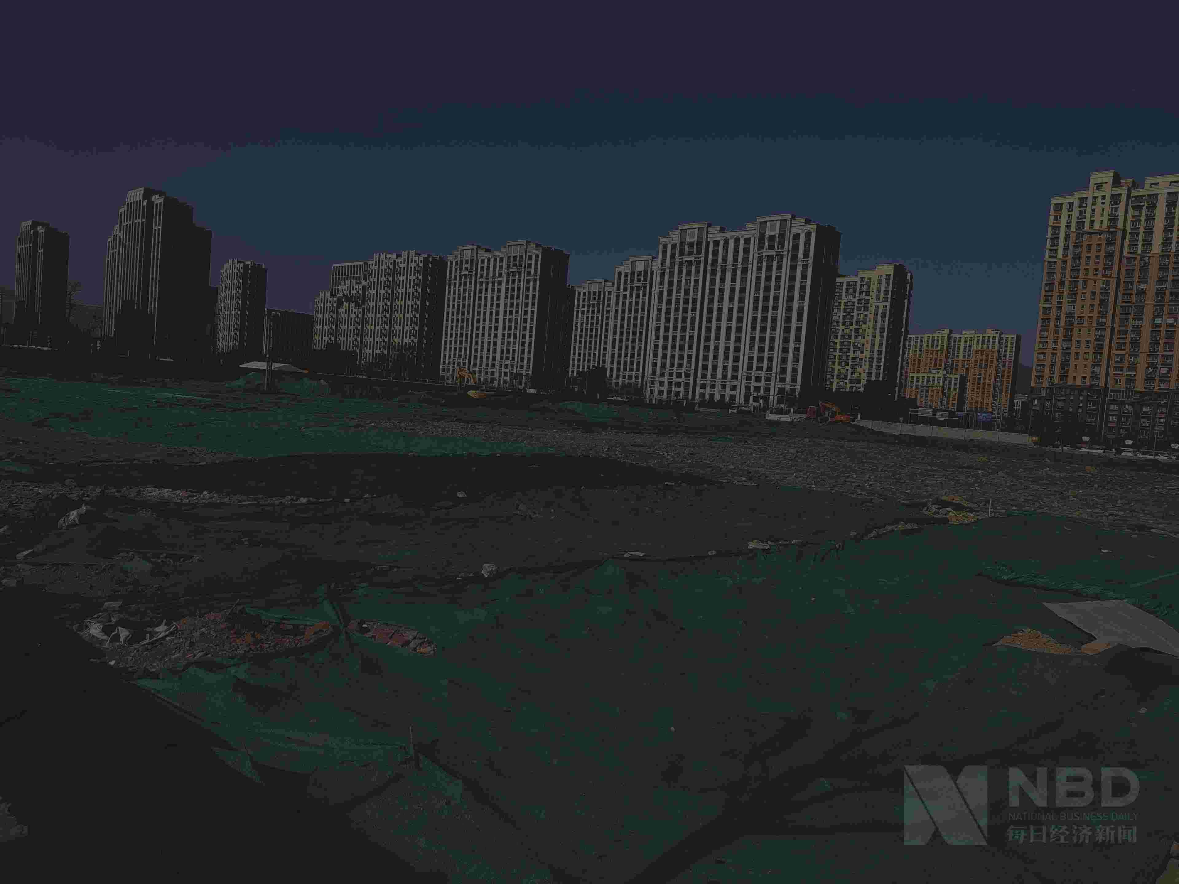 北京石景山区某地块 每日经济新闻记者 王佳飞 摄