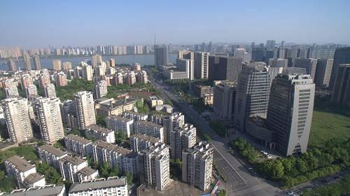 杭州城市一隅