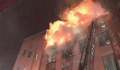 美国华人博物馆大火 8.5万件珍藏文物和艺术品恐已损毁