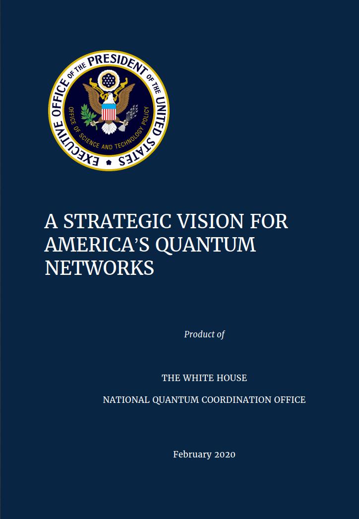 白宫发布战略构想:美国将开辟量子互联网