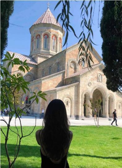 Natália在格鲁吉亚