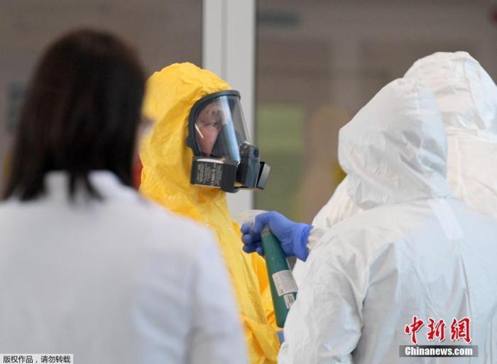 俄新冠病毒感染者达1836人 单日新增突破300人