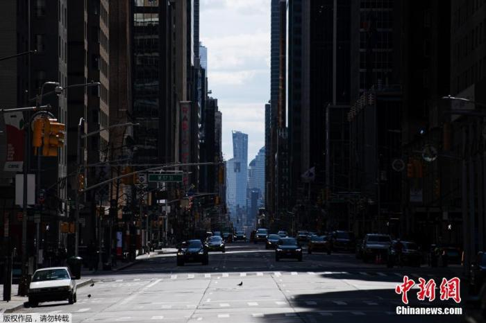 受新冠肺炎疫情影响 美航大幅削减纽约市机场起降航班