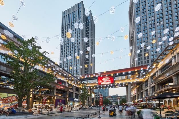 北京中骏世界城实景图