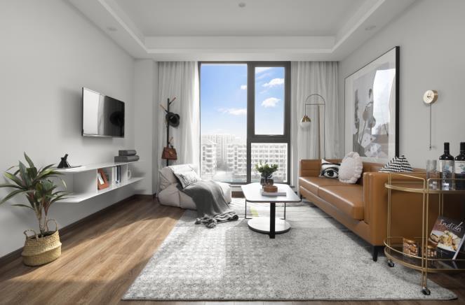 杭州方隅未来科技城精品公寓室内实景图