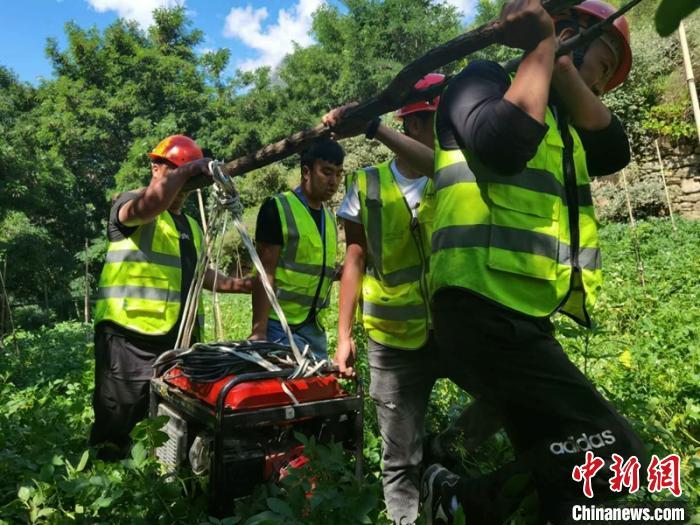 四川丹巴山洪泥石流灾害:1.4万余人已返回家中