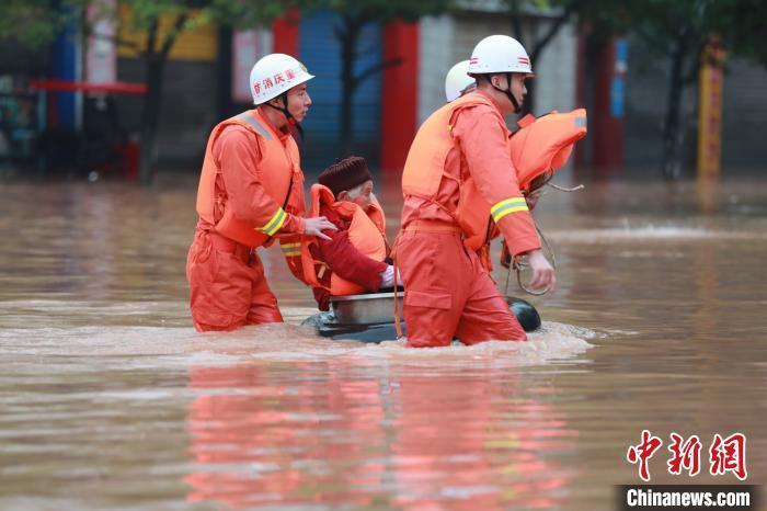 重庆9条次中小河流出现超保证水位洪水 启动防汛Ⅲ级应急响应