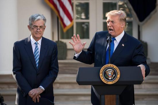 特朗普对美联储鲍威尔态度急转弯:一开始不满意 现在越来越满意