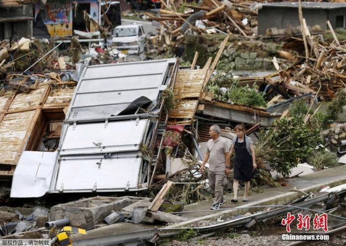 日本九州暴雨致52人死亡 近140万民众被要求紧急避难