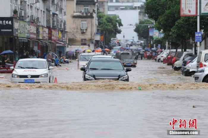 贵州至长江中下游地区有强降雨 局地有特大暴雨