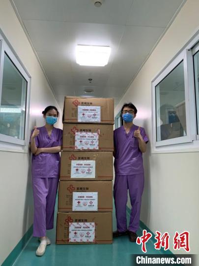 中国红基会:20万人份新冠病毒核酸检测试剂盒发放至10家医院