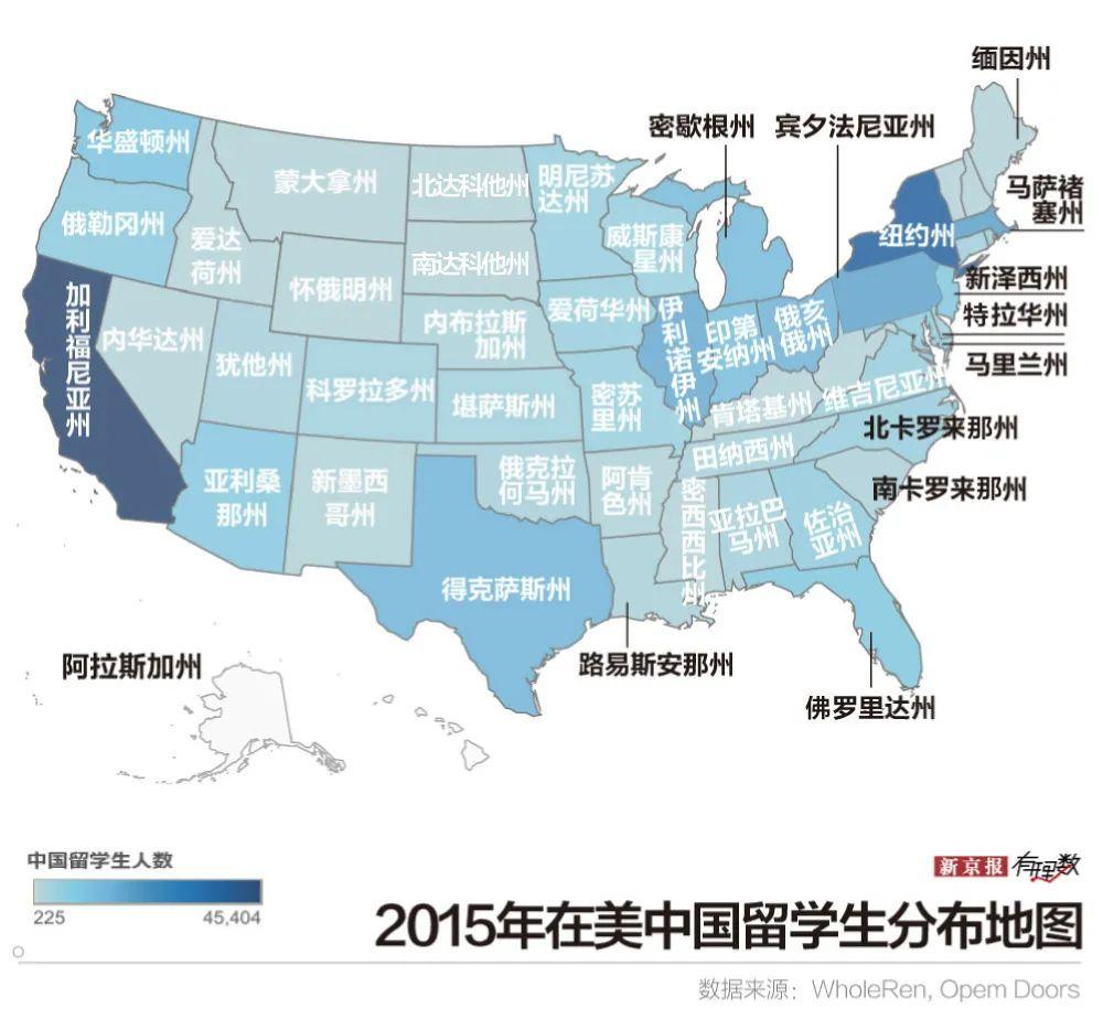 近37万中国学生在美留学,他们去学什么?