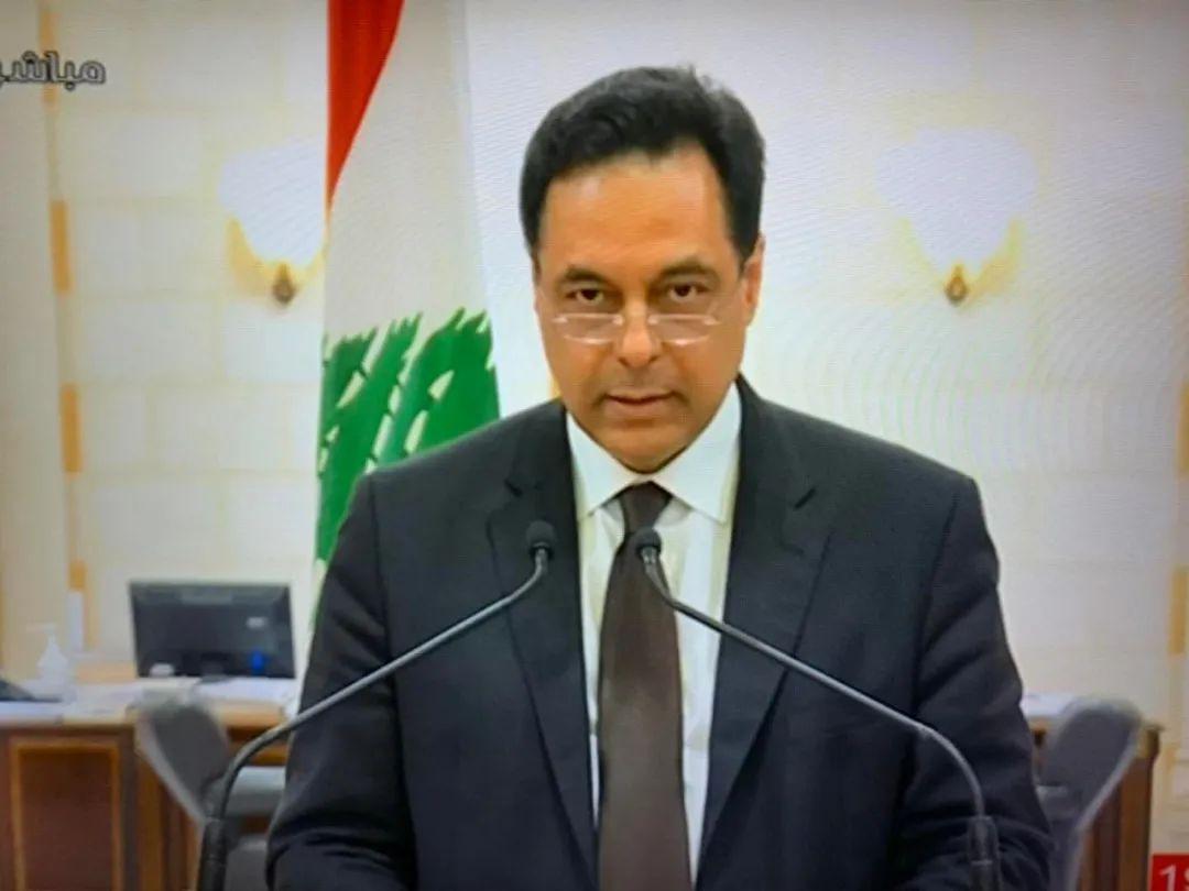 黎巴嫩总理宣布本届政府辞职,意大利专家:爆炸或由军用导弹引发